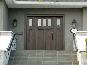 Two Front Doors Traditional 3 Lite 2 Panel Traditional Front Doors Vancouver By Doorex