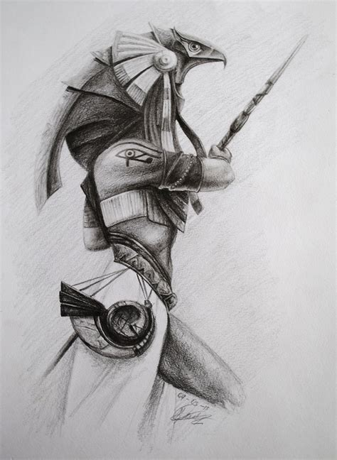horus warrior guerrero horus by artdamo on deviantart