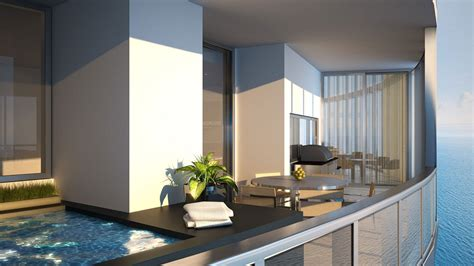 porsche design tower pool porsche design tower miami condos isles miami