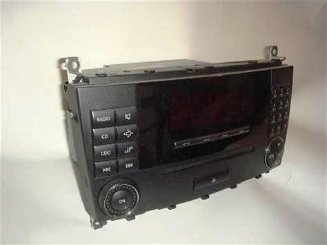 Used W203 C Class Audio 20 Head Unit Comand Navigation