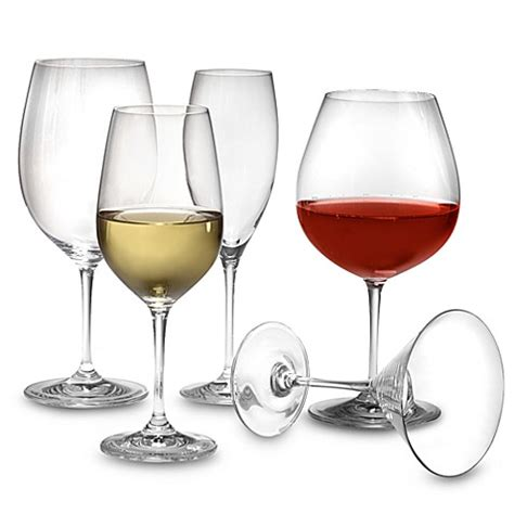 bed bath and beyond glassware riedel 174 vinum crystal stemware bed bath beyond