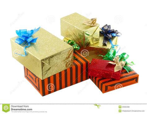 new year packaging box new year colour gift boxes royalty free stock photos
