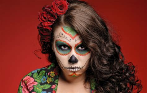 halloween hairstyles day of the dead quinceanera hairstyles inspired by day of the dead