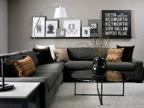 Black Sofa Living Room Decorating Ideas Black And Grey Living Room Ideas For Gorgeous Decor Home