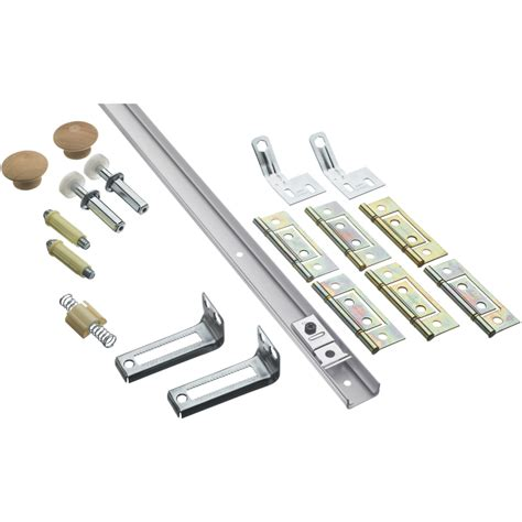 Closet Door Kits Shop Stanley National Hardware 14 Bifold Closet Door Hardware Kit At Lowes