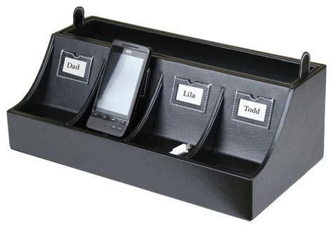 multiple phone charging station smartphone charging station transitional desk
