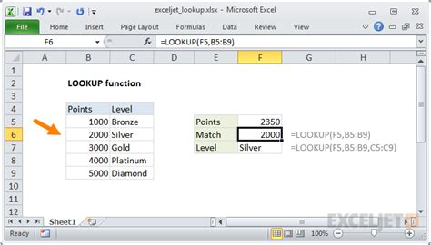 Excel Lookup How To Use The Excel Lookup Function Exceljet