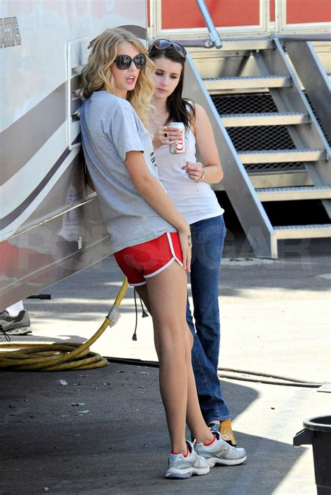 emma roberts and taylor lautner film photos of taylor lautner and taylor swift with crowns