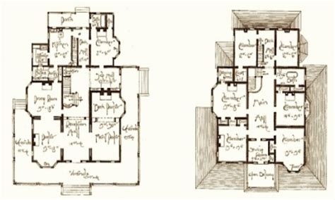 Victorian Home Plans Small Victorian House Old Victorian House Floor Plans