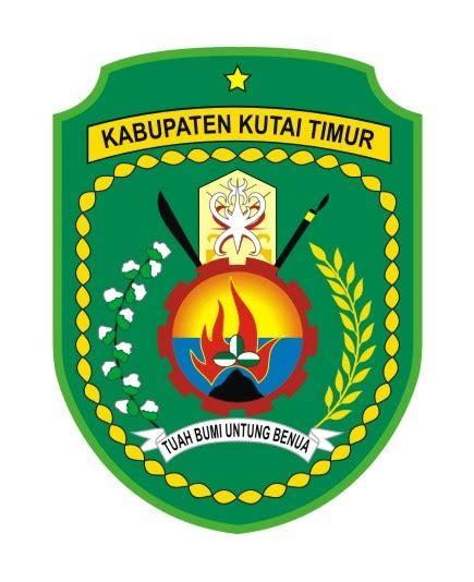 logovectorcdr logo kabupaten kutai timur