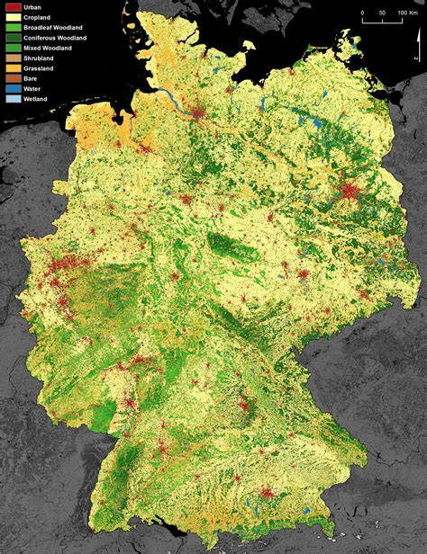 Dlr Projektträger by Dlr Earth Observation Center New Dfd Land Use And Land