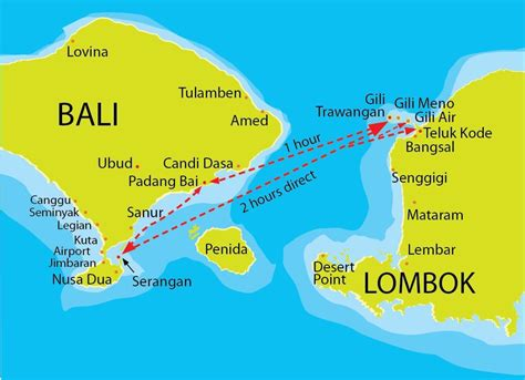 gili air boat schedule gili trawangan map fastboat routes indonesia in 2018