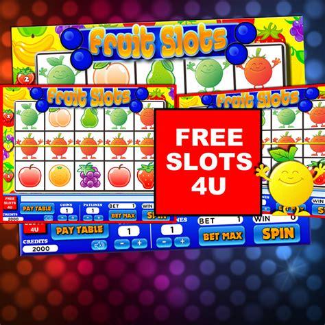 fruit 4 u free fruit slot machine by free slots 4u