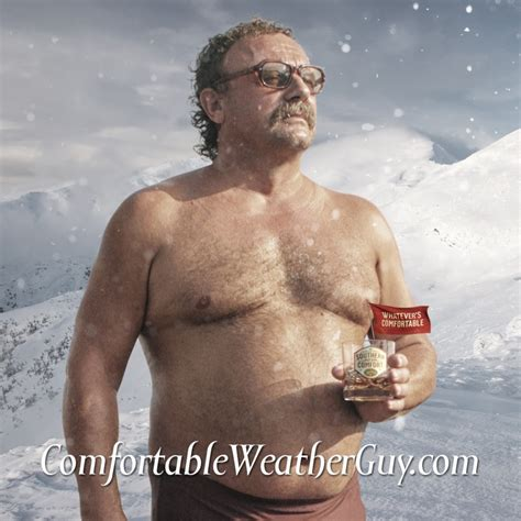 The Southern Comfort Guy Trades Whisky For Weather On