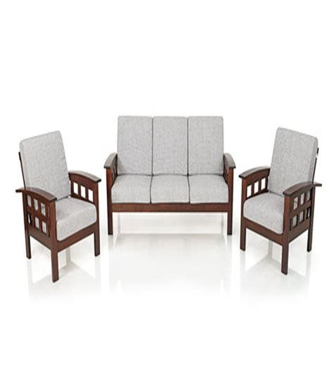 three seater sofa set solid wood 5 seater sofa set 3 1 1 buy solid wood 5