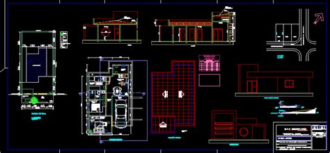 dibujar planos 2d house 2d in autocad drawing bibliocad