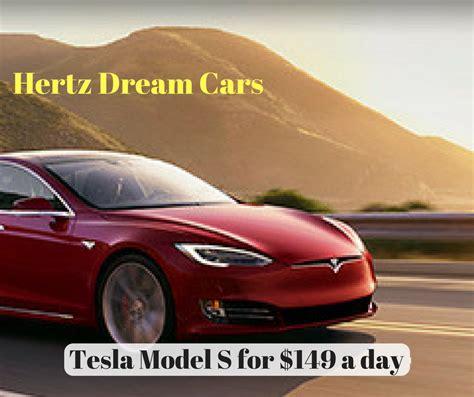 Tesla Hertz Hertz Cars Tesla For 149 A Day Baldthoughts