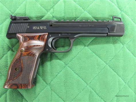 smith and wesson performance center model 41 for sale smith wesson model 41 performance center 22 l for sale