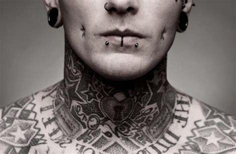j tattoo on neck neck tattoo