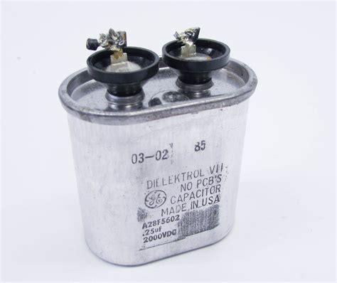 ge a28f5602 2 000 vv 1 capacitor pkg 2000vdc 25uf scr snubber capacitor series ebay