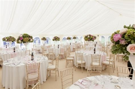 marquee decoration articles easy weddings floral decorations for a wedding marquee the wedding
