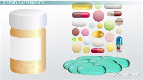 supplement use dietary supplement use abuse lesson transcript