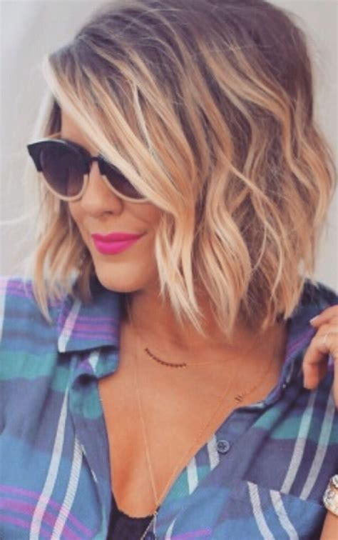 layered beachy medium length haircut 23 trendiest bob haircuts for 2017