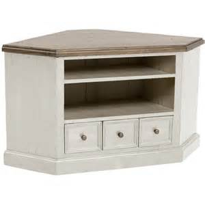 rustic white stained oak wood corner tv stand with cubism drawers of delightful white corner tv