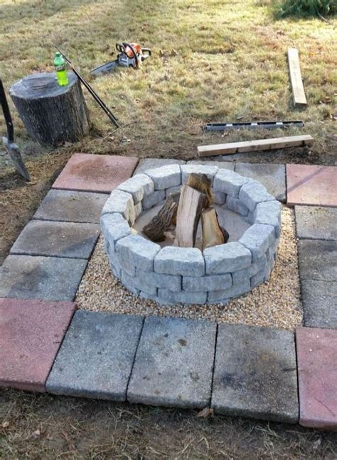 making a firepit in your backyard how to build a diy fire pit in your own backyard 10 pics
