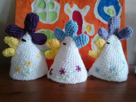 knitted egg cosy pattern bits and bobs zone chicken egg cosies