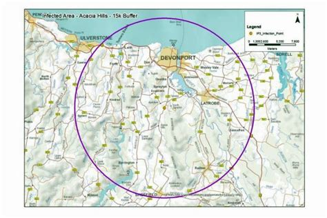 fruit zone map fruit fly alert what you can and can t do in tasmania s