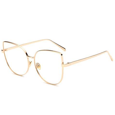 top 5 best selling no prescription eyeglasses cat eye with