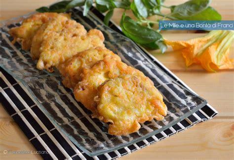ricetta frittelle fiori di zucca frittelle con i fiori di zucca