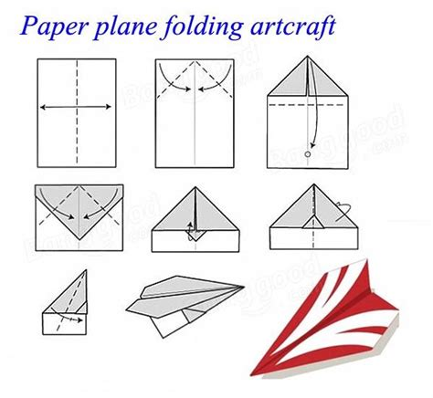How To Make A Regular Paper Airplane - easy rc folding paper airplane hm830 us 18 50