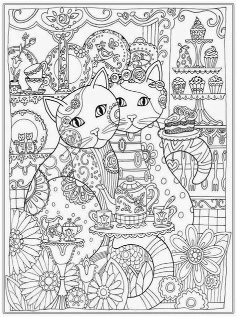 coloring book for adults cat coloring pages for realistic coloring pages