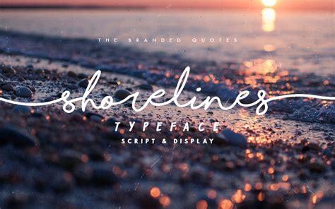 Dafont Shorelines   shorelines script dafont com