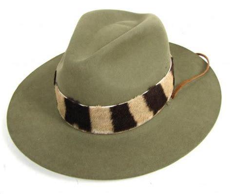 Winning Hat All Sz nwt willis geiger genuine zebra fur felt mens safari hat