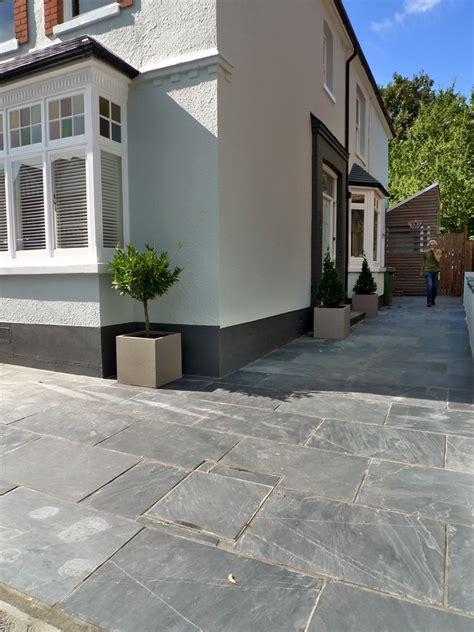 Patio Driveway Designs Slate Paving Patio Driveway Garden Design