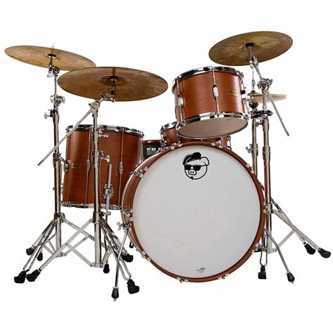 pork pie percussion hip pig 3 drum set shell pack