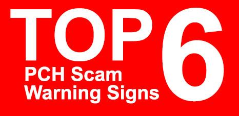 Is Pch A Scam - top 6 pch scam warning signs pch blog