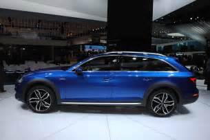 Audi A6 Quatro Detroit 2016 Audi A4 Allroad Quattro Gtspirit