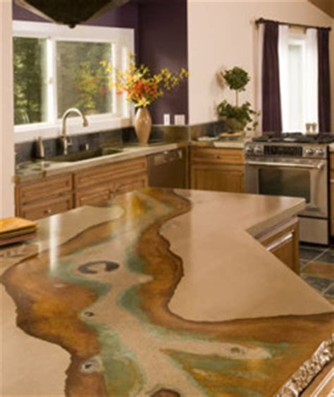 pros and cons of concrete countertops countertop guides