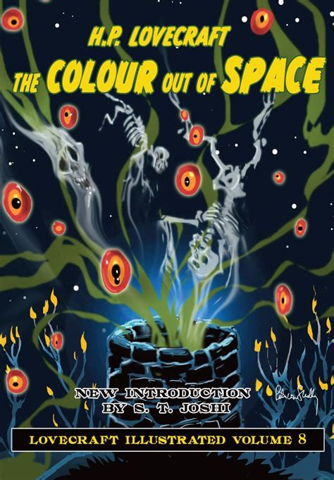 the color of the colour out of space hardcover by h p lovecraft
