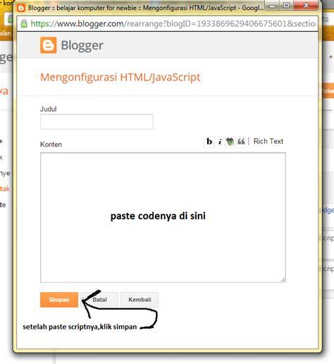 cara membuat widget jam di blog wordpress cara membuat gadget jam dengan tanggal pada blog belajar