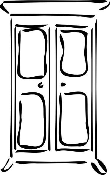 cupboard clip art  vector  open office drawing svg