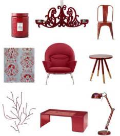 home decor red ruby red home decor shopping popsugar home