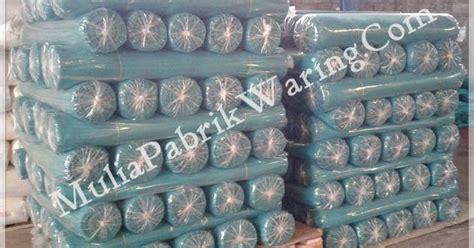 Jual Waring Ikan Di Bandung distributor supplier agen kain jala jaring kasa hijau