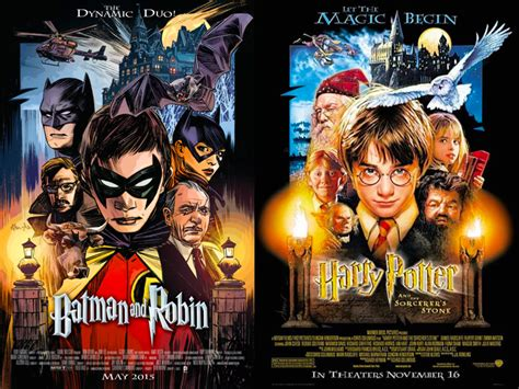 Potter S House Dc by Dc Comics Superheroes Feat Posters