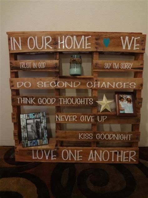 Diy Home Decor Ideas With Pallets Uses For Pallets 24 Pics
