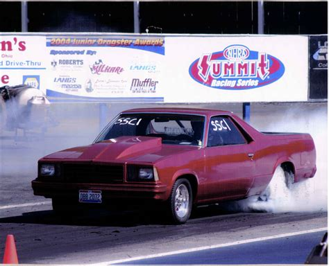 el camino drag car 1979 chevrolet el camino 1 4 mile drag racing timeslip